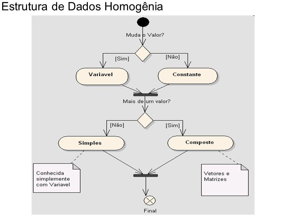 Estrutura de Dados Homogênia