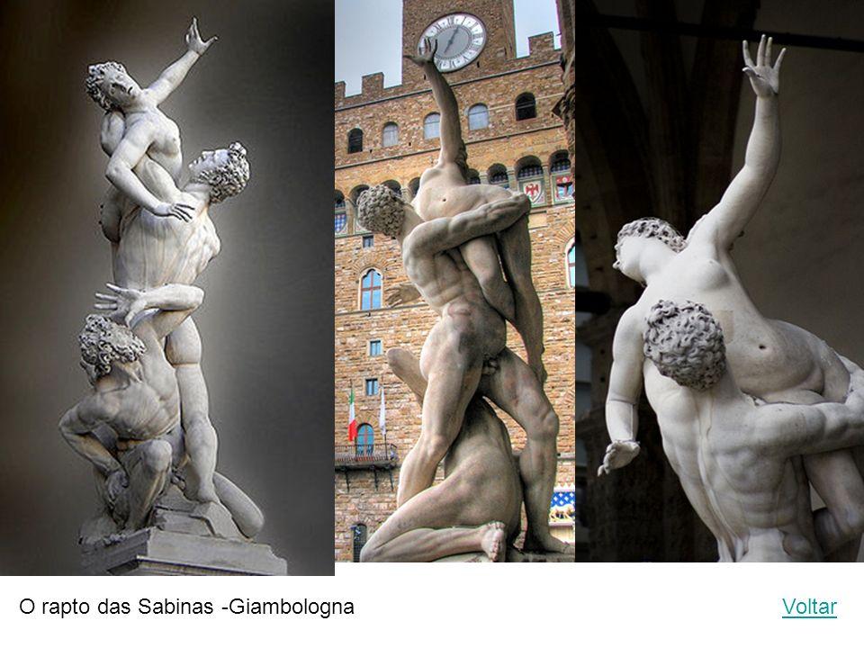 O rapto das Sabinas -Giambologna