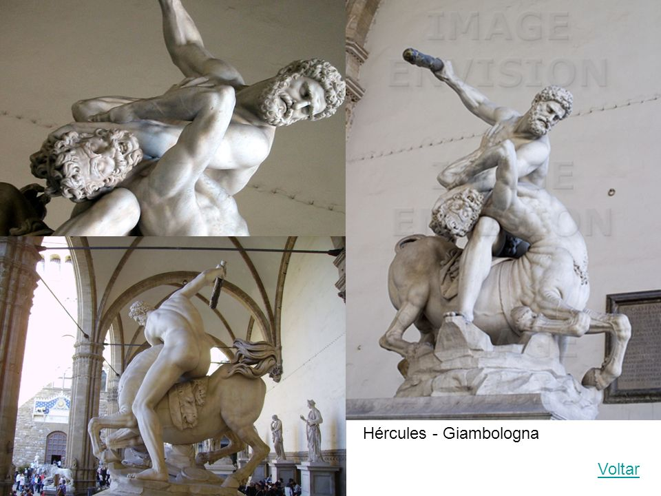 Hércules - Giambologna