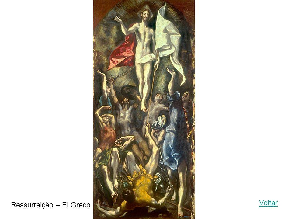 Voltar Ressurreição – El Greco