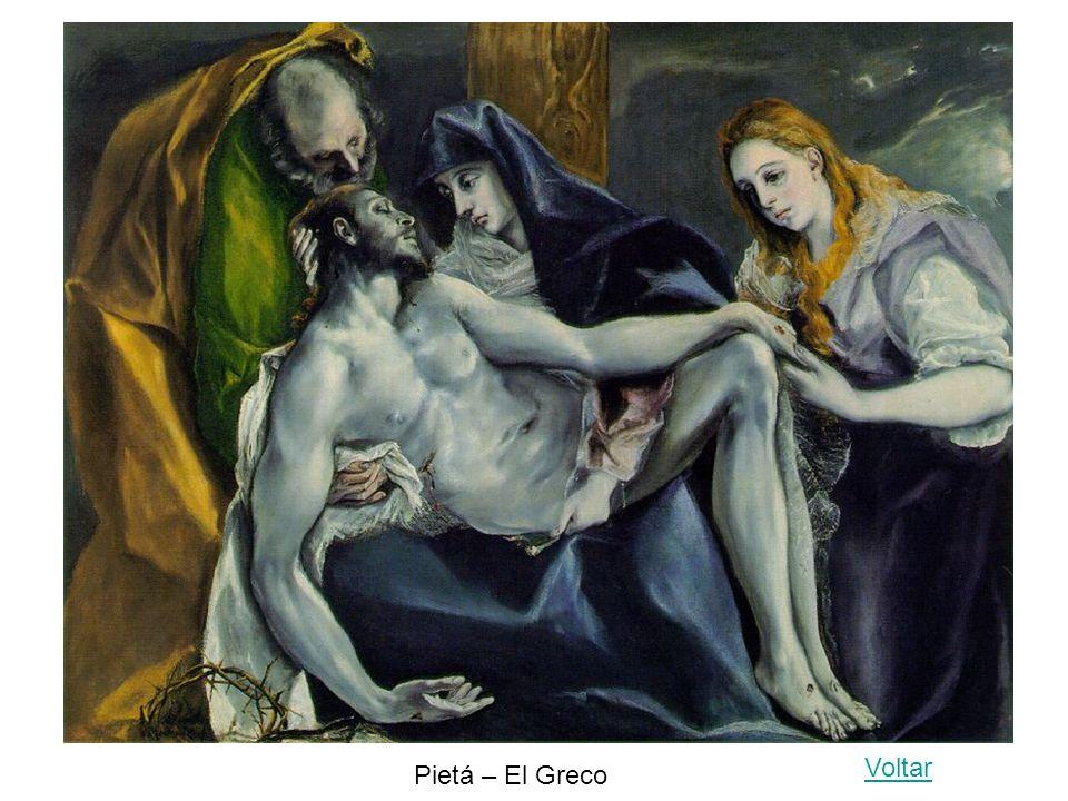 Voltar Pietá – El Greco