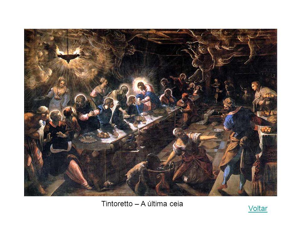 Tintoretto – A última ceia