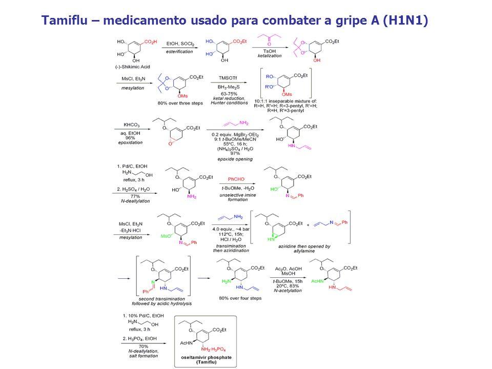 Tamiflu – medicamento usado para combater a gripe A (H1N1)