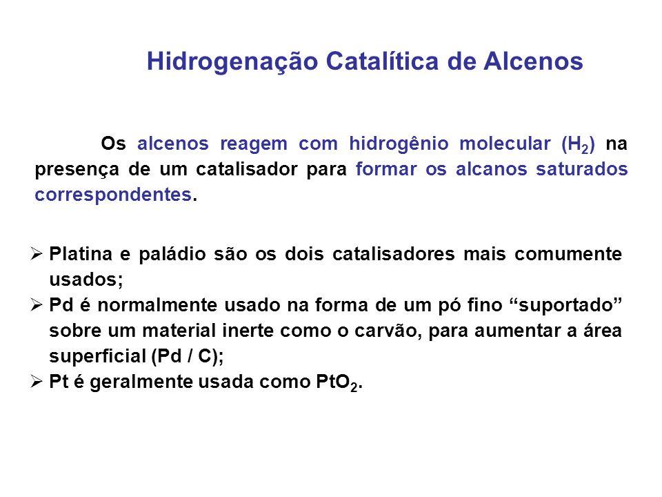 Hidrogenação Catalítica de Alcenos