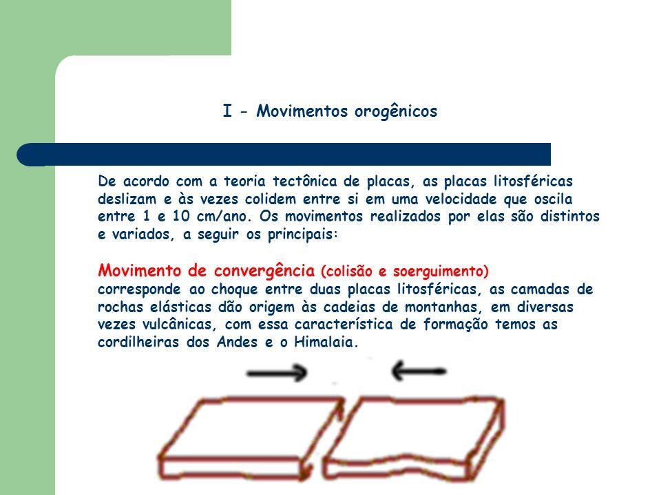I - Movimentos orogênicos