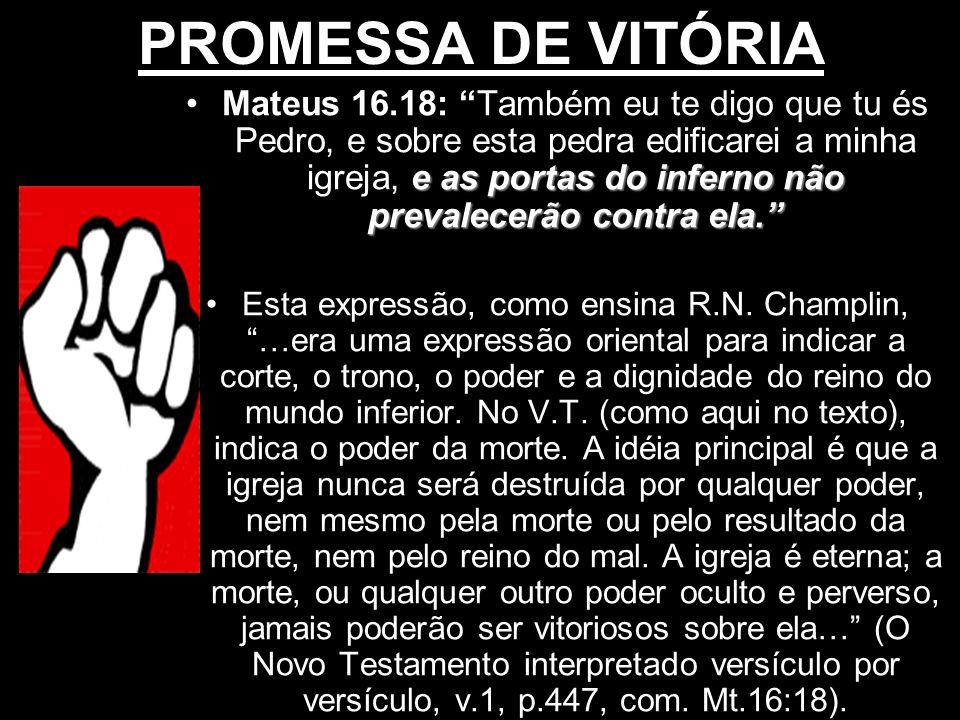 PROMESSA DE VITÓRIA