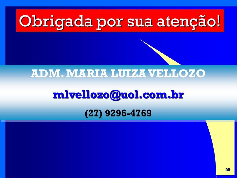 ADM. MARIA LUIZA VELLOZO