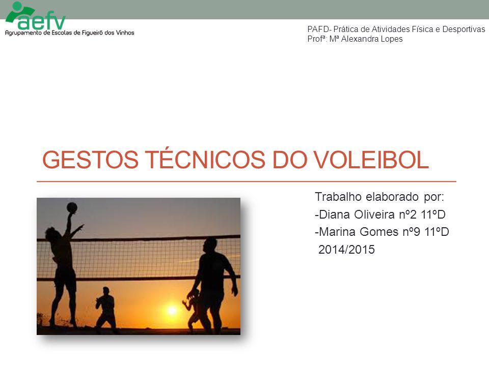 Gestos técnicos do voleibol
