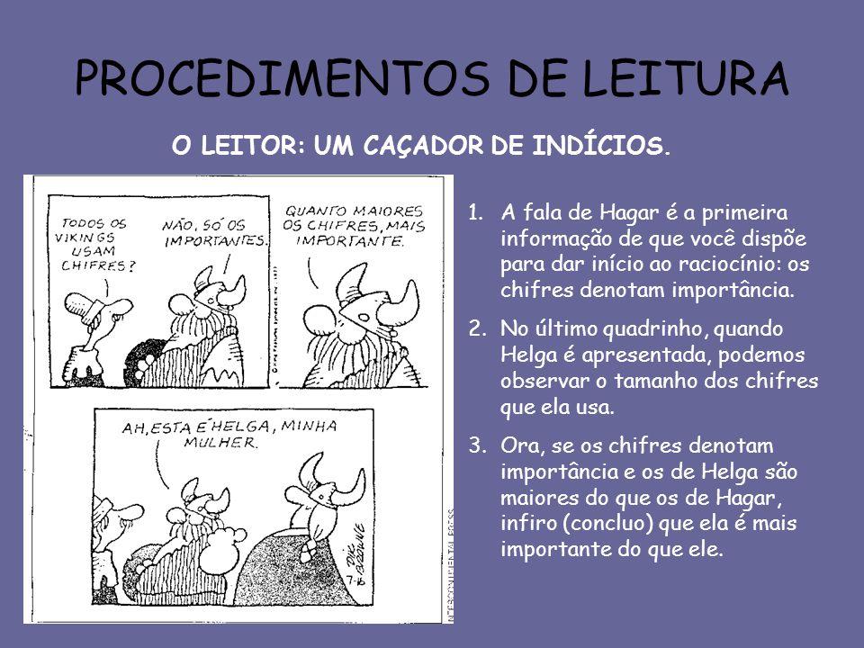 PROCEDIMENTOS DE LEITURA
