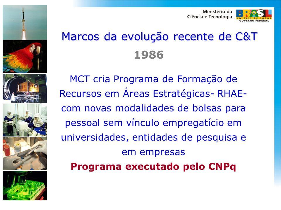 Programa executado pelo CNPq