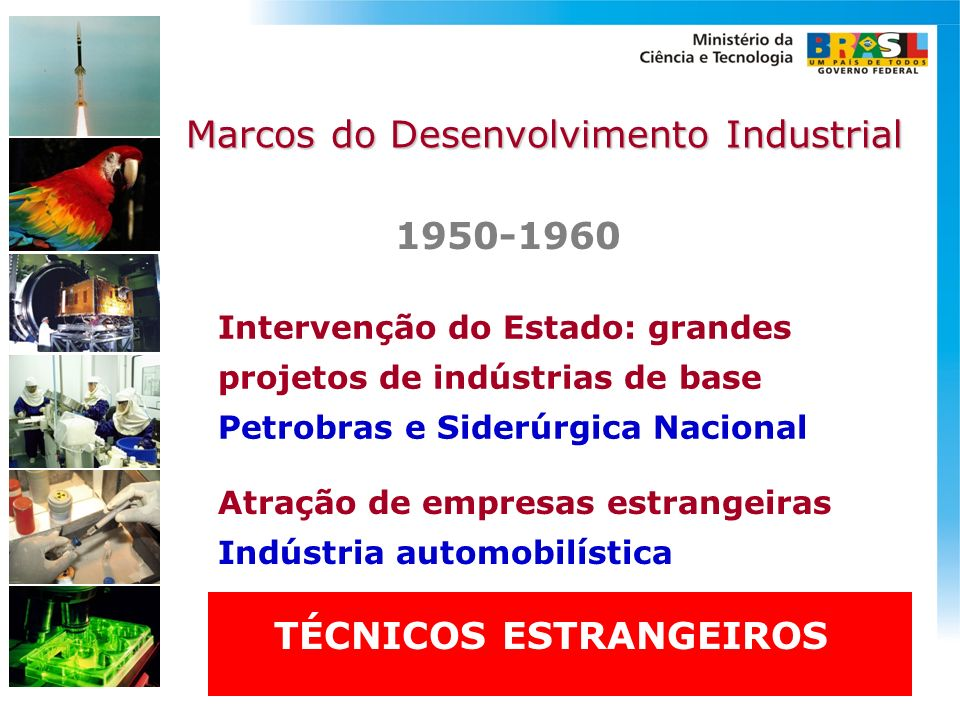 Marcos do Desenvolvimento Industrial