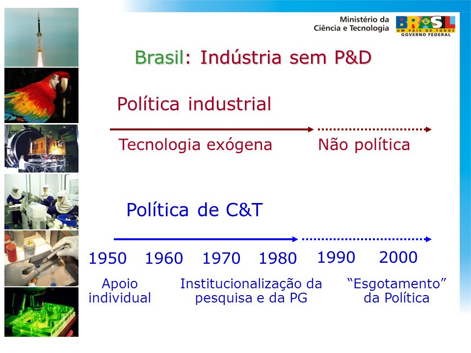Institucionalização da pesquisa e da PG