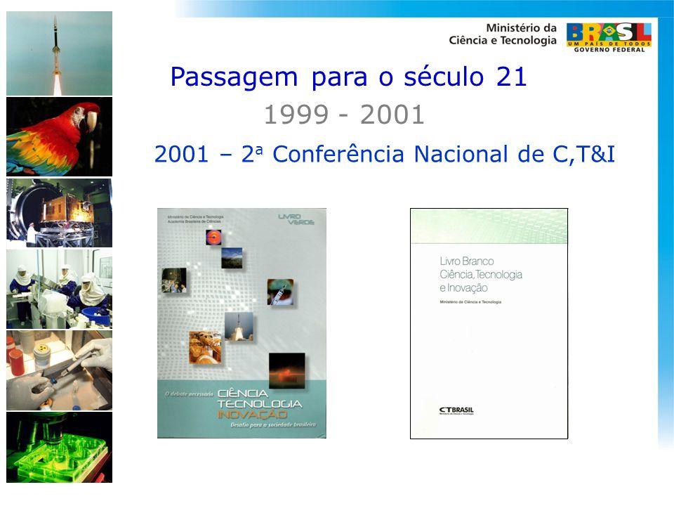 2001 – 2a Conferência Nacional de C,T&I
