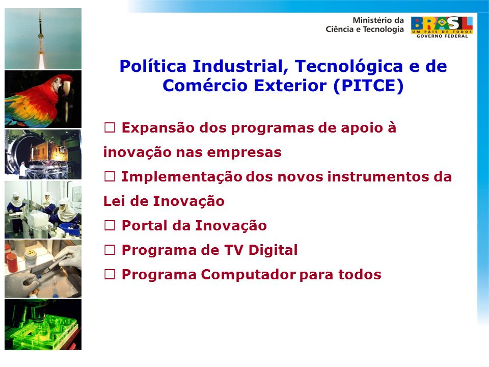 Política Industrial, Tecnológica e de Comércio Exterior (PITCE)