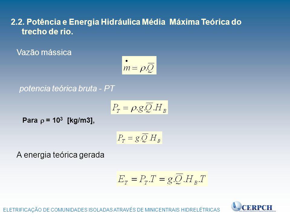 potencia teórica bruta - PT