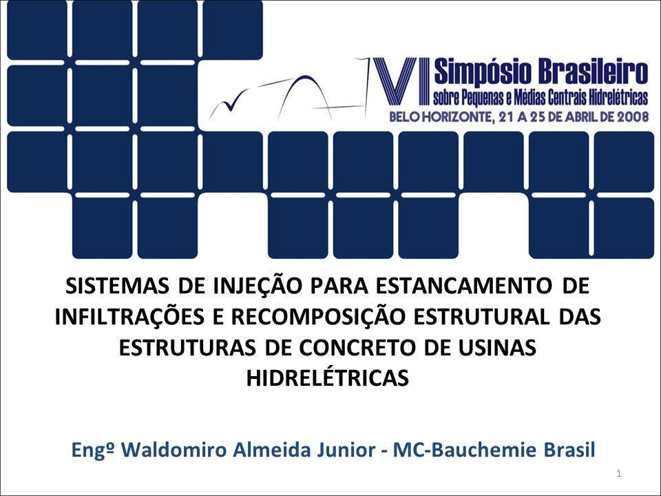Engº Waldomiro Almeida Junior - MC-Bauchemie Brasil