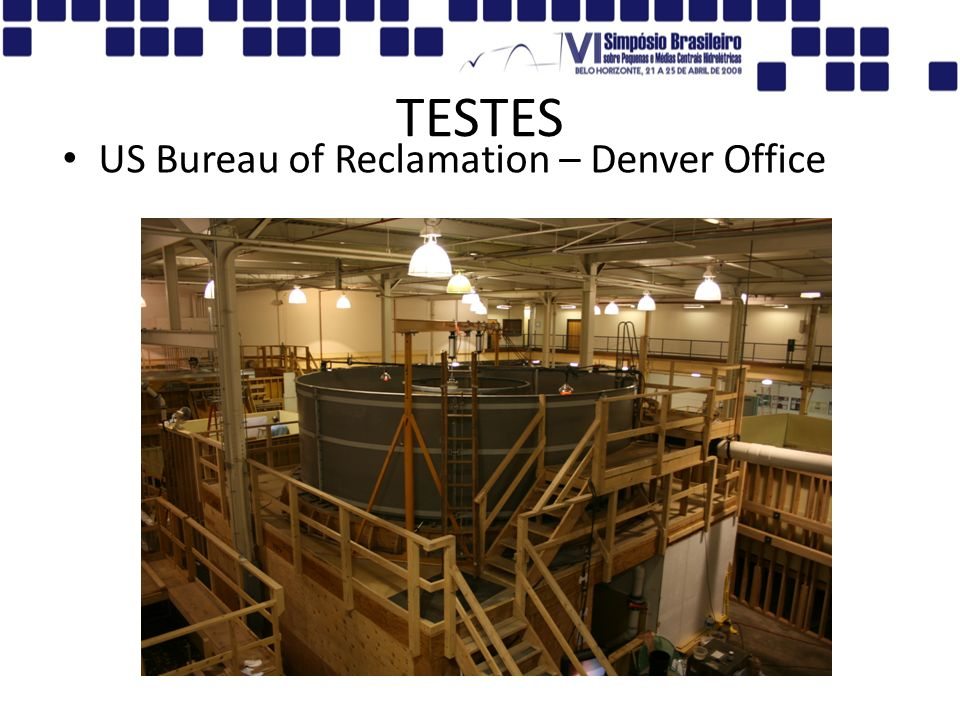 TESTES US Bureau of Reclamation – Denver Office