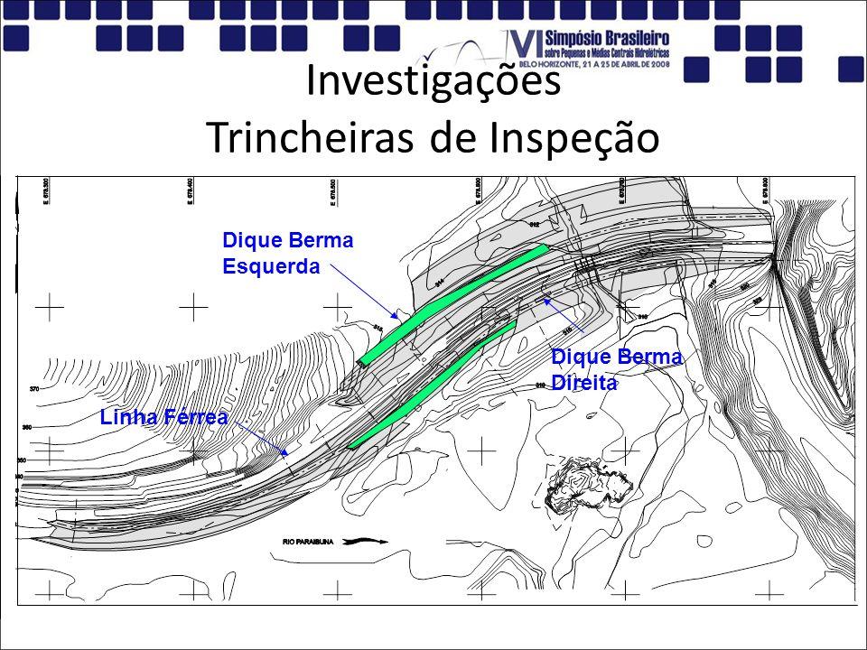 Investigações Trincheiras de Inspeção