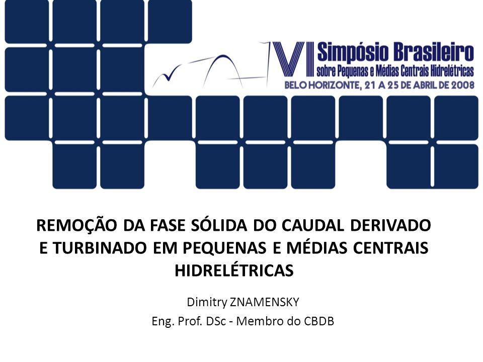 Dimitry ZNAMENSKY Eng. Prof. DSc - Membro do CBDB