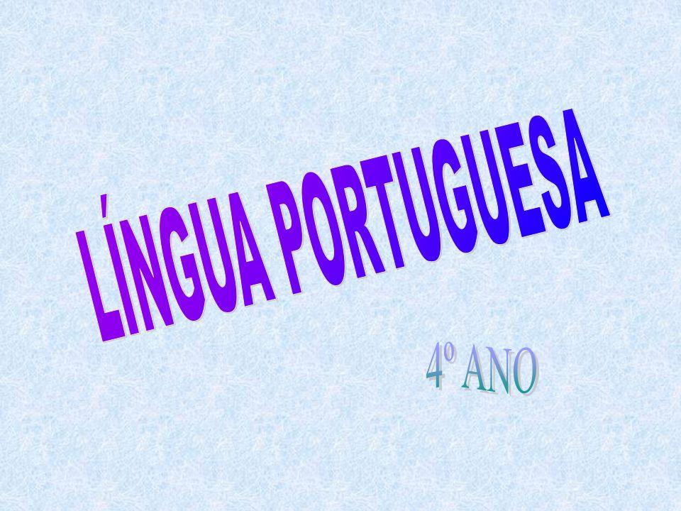 LÍNGUA PORTUGUESA 4º ANO