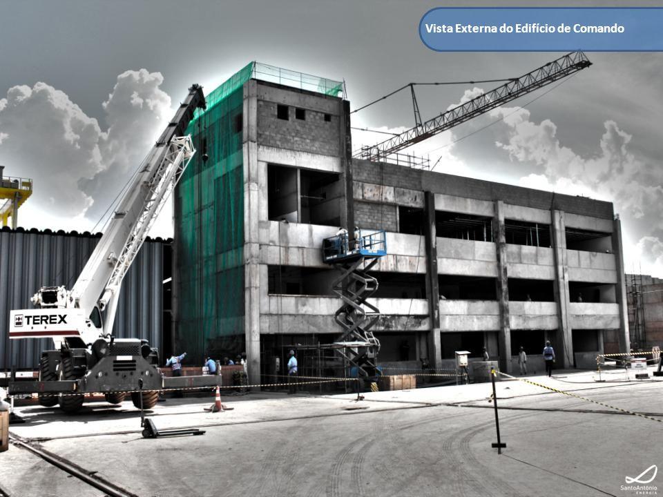 Vista Externa do Edifício de Comando