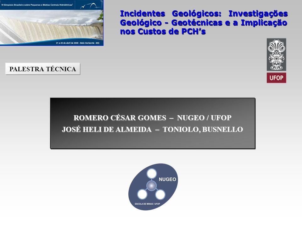 ROMERO CÉSAR GOMES – NUGEO / UFOP