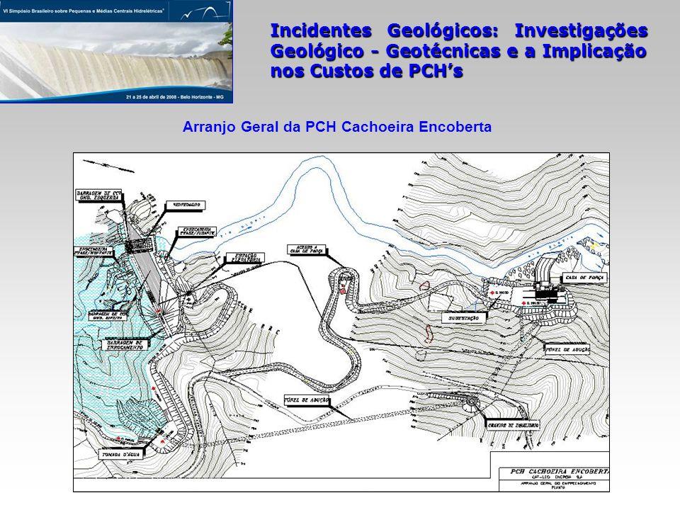 Arranjo Geral da PCH Cachoeira Encoberta
