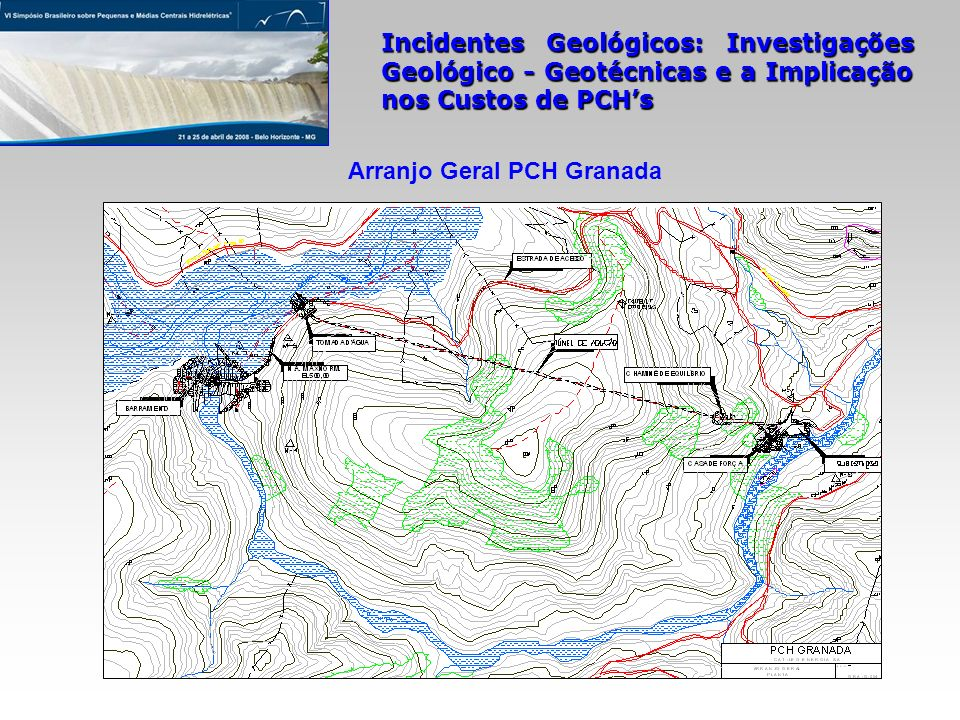 Arranjo Geral PCH Granada