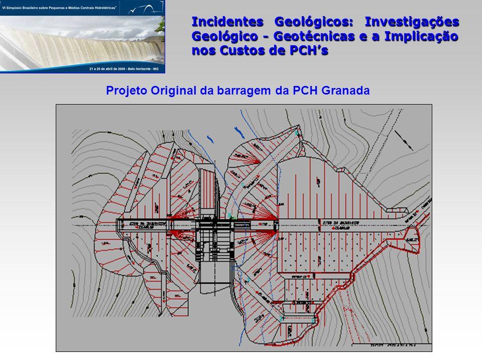 Projeto Original da barragem da PCH Granada