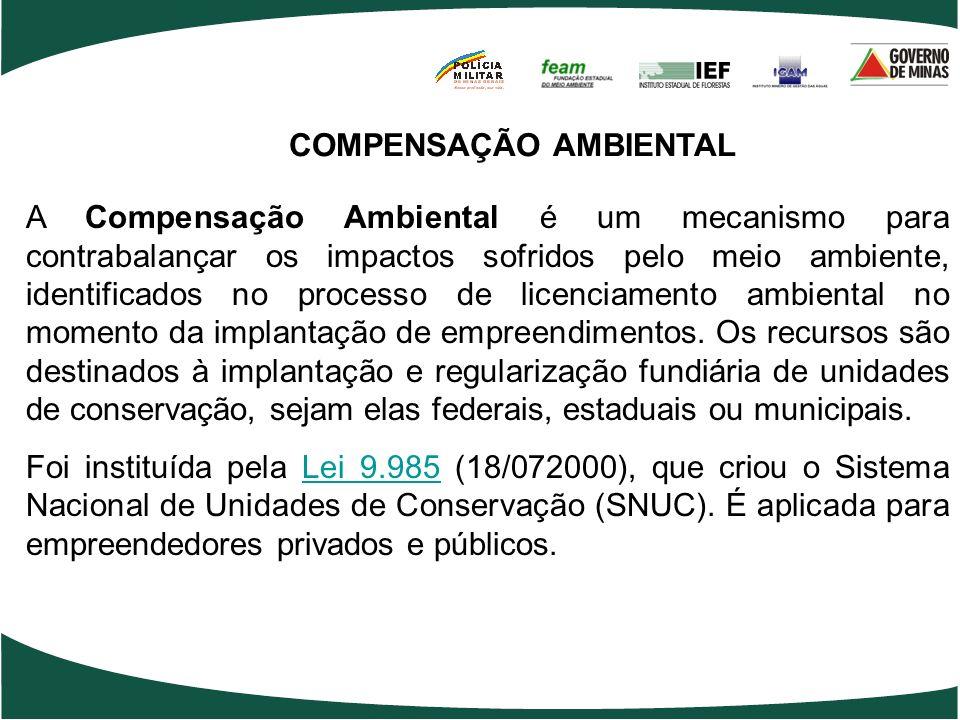 COMPENSAÇÃO AMBIENTAL