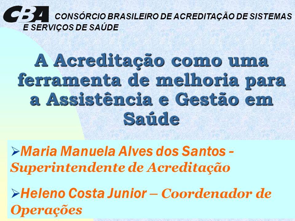 CONSÓRCIO BRASILEIRO DE ACREDITAÇÃO DE SISTEMAS