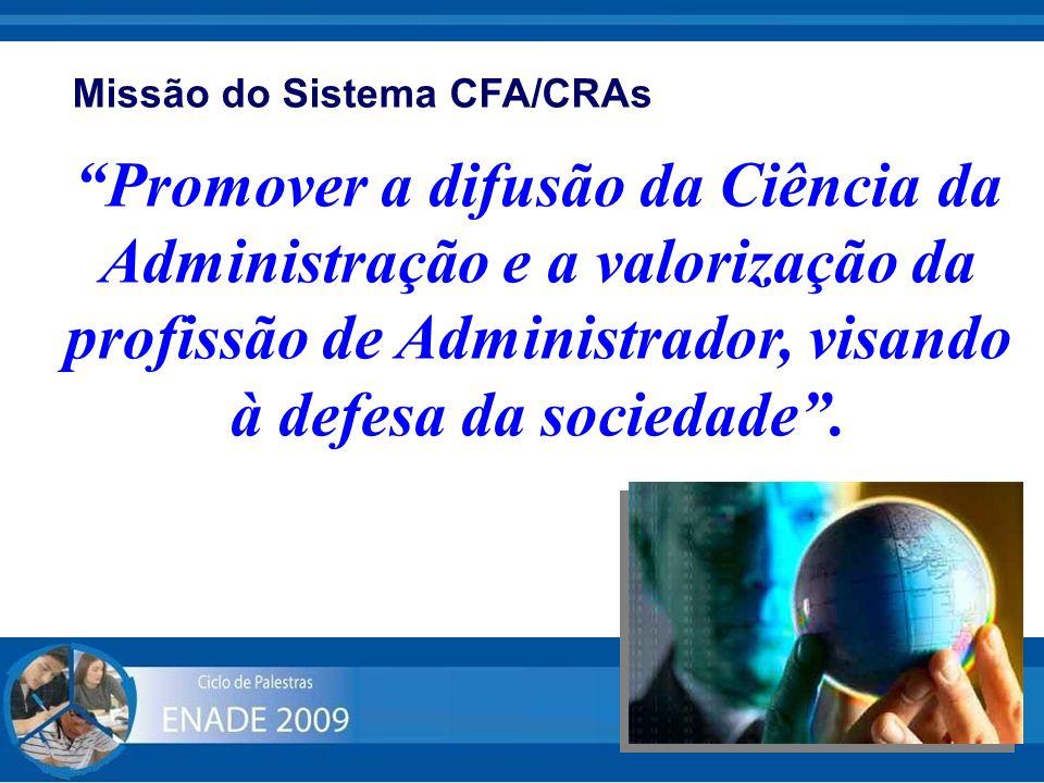 Missão do Sistema CFA/CRAs