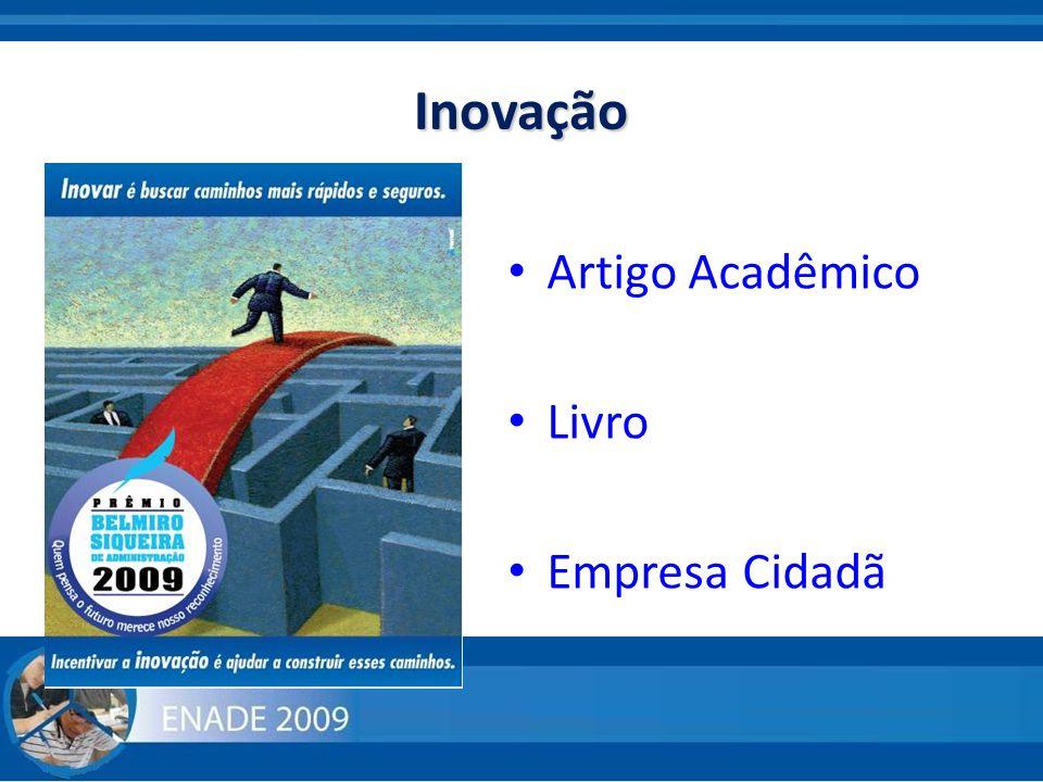 Inovação Artigo Acadêmico Livro Empresa Cidadã