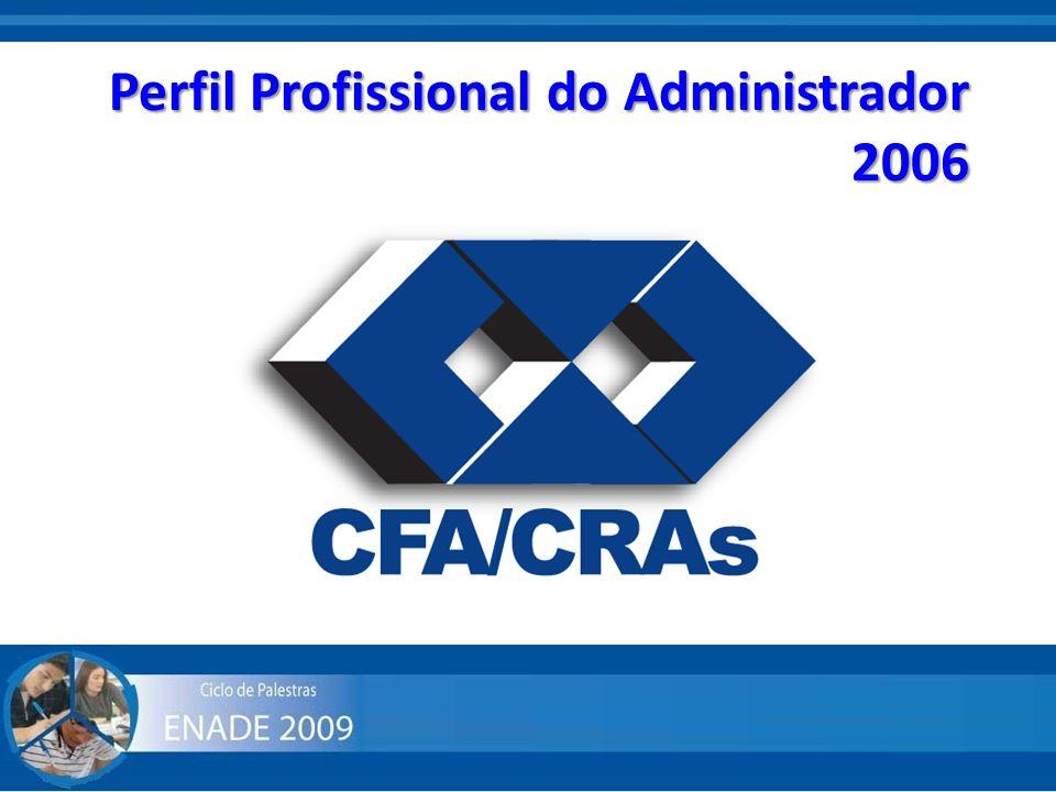 Perfil Profissional do Administrador 2006