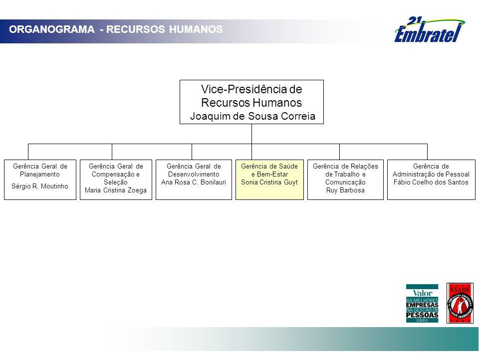 Vice-Presidência de Recursos Humanos ORGANOGRAMA - RECURSOS HUMANOS