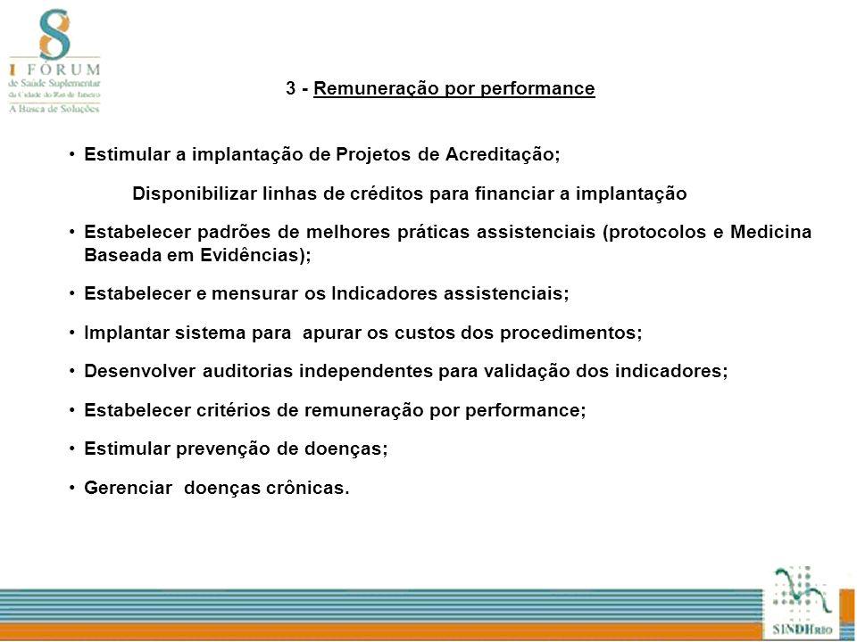3 - Remuneração por performance