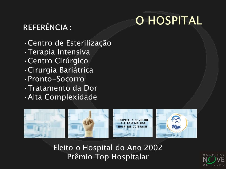 Eleito o Hospital do Ano 2002