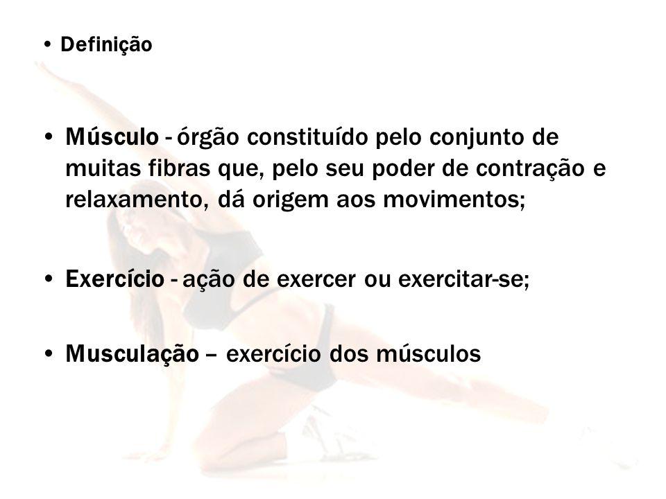 Exercício - ação de exercer ou exercitar-se;