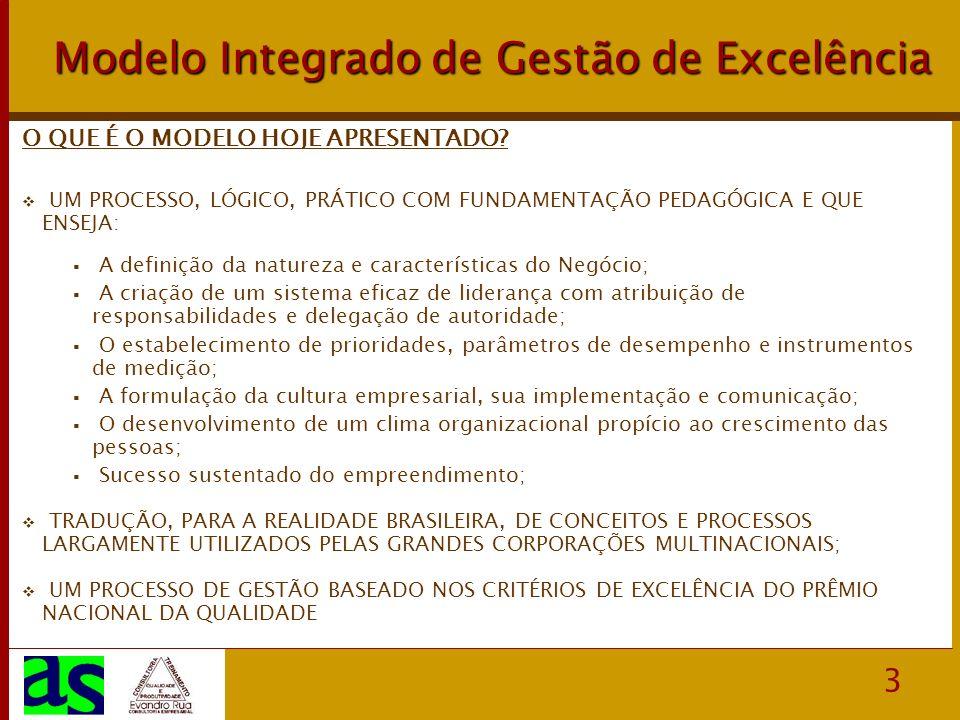 Modelo Integrado de Gestão de Excelência