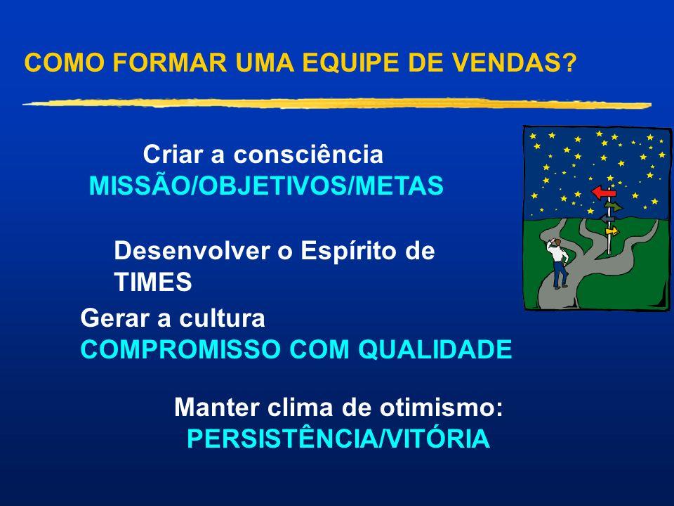 COMO FORMAR UMA EQUIPE DE VENDAS