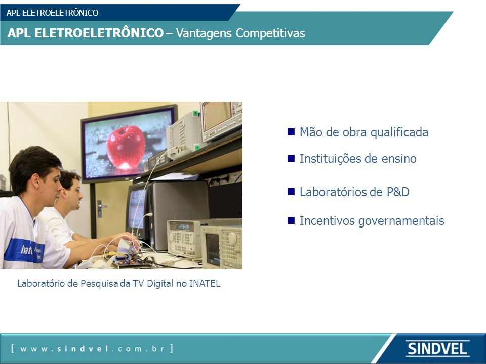 Laboratório de Pesquisa da TV Digital no INATEL