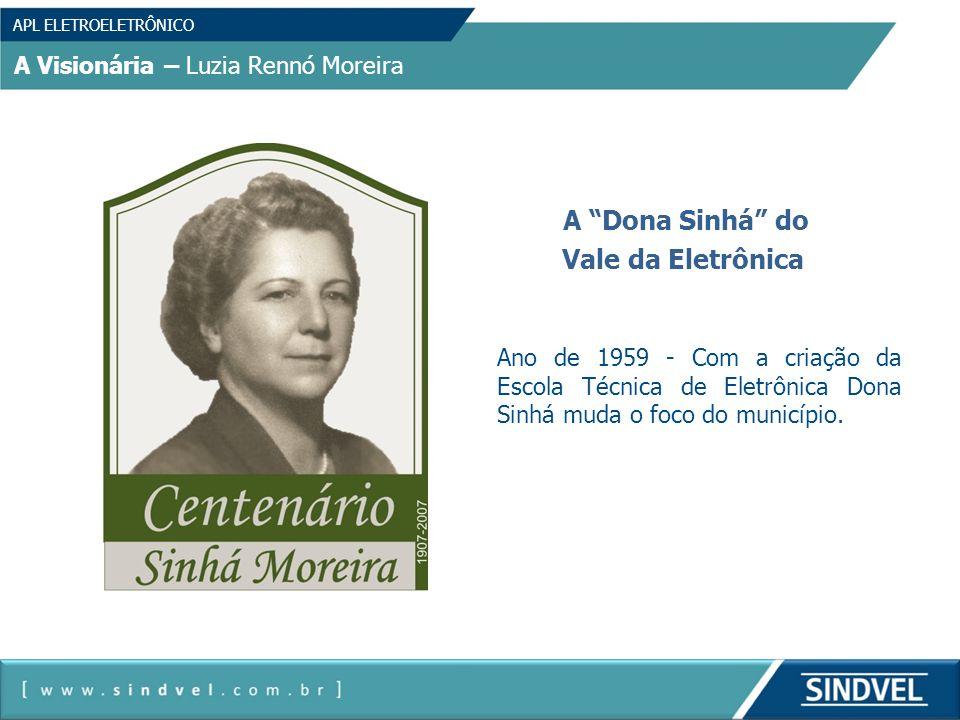 Vale da Eletrônica A Visionária – Luzia Rennó Moreira