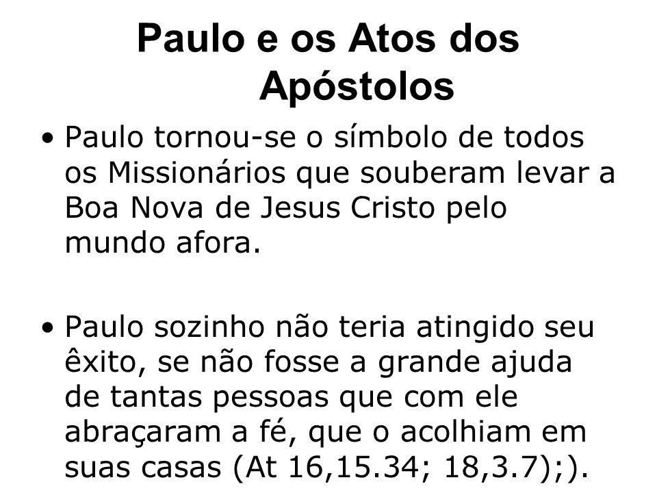 Paulo e os Atos dos Apóstolos