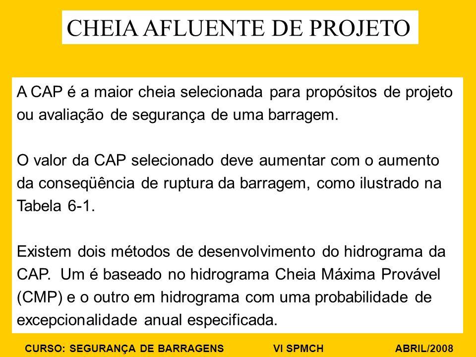 CHEIA AFLUENTE DE PROJETO