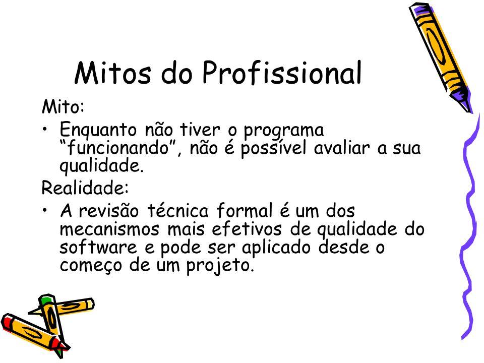 Mitos do Profissional Mito: