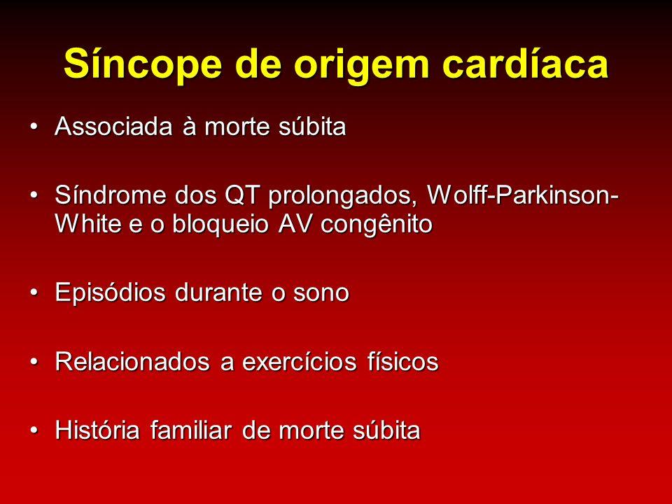 Síncope de origem cardíaca