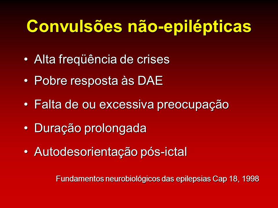 Convulsões não-epilépticas