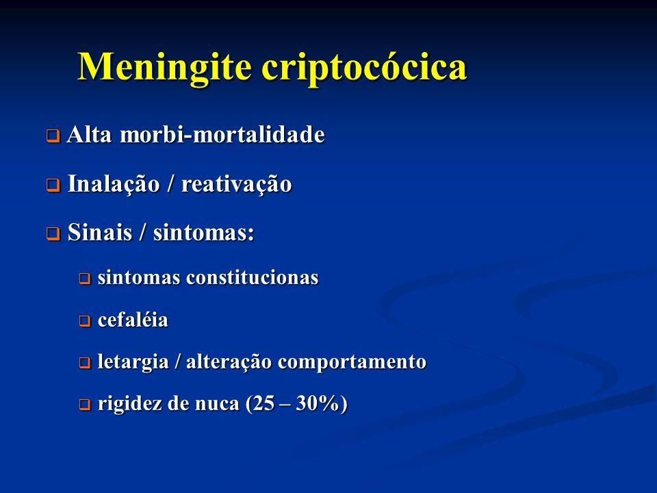 Meningite criptocócica