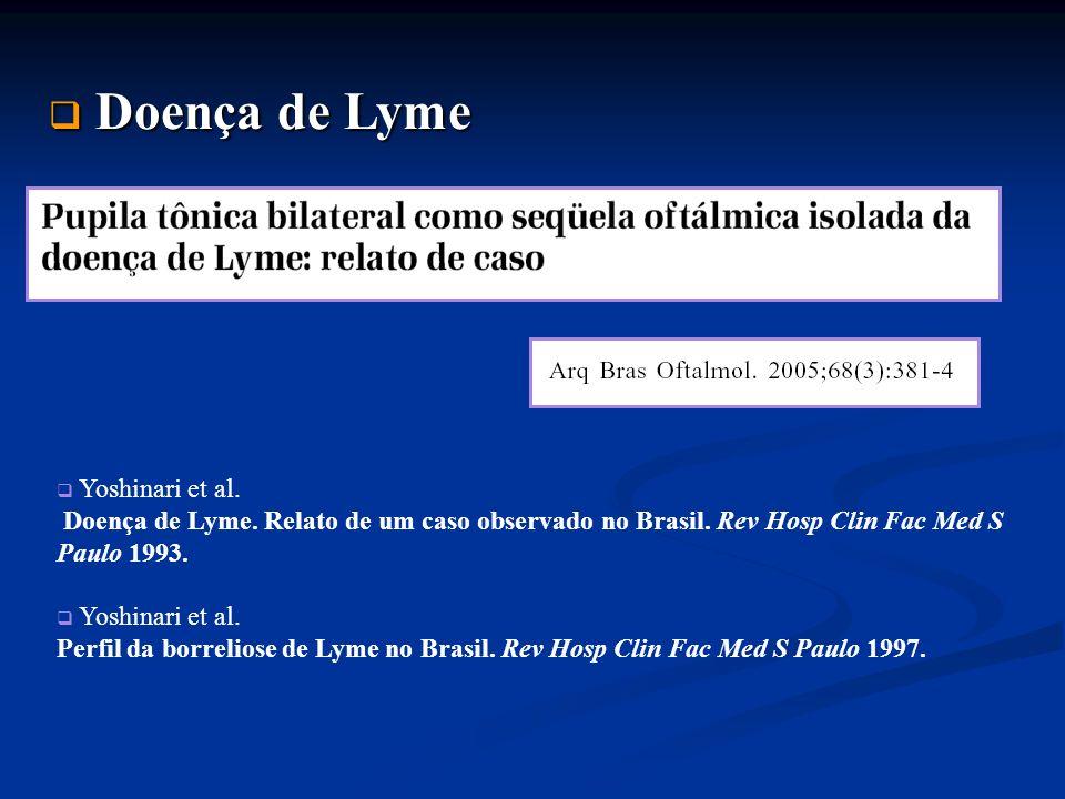 Doença de Lyme Yoshinari et al.