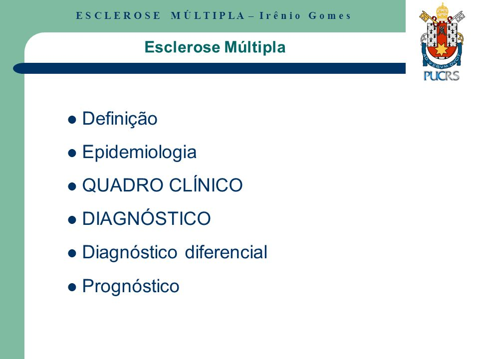 Diagnóstico diferencial Prognóstico